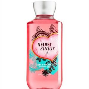 Bath and Body Works velvet sugar shower gel